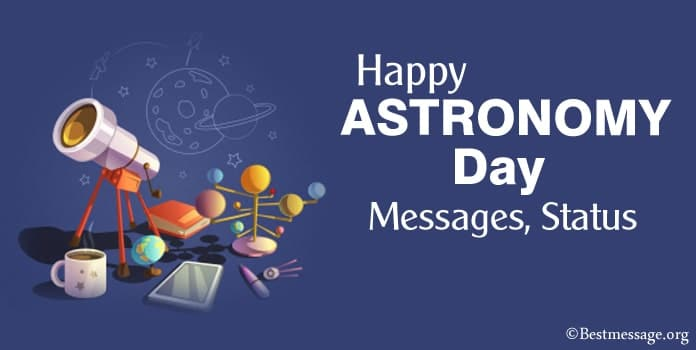 Happy Astronomy Day Messages, Short Astronomy, Status