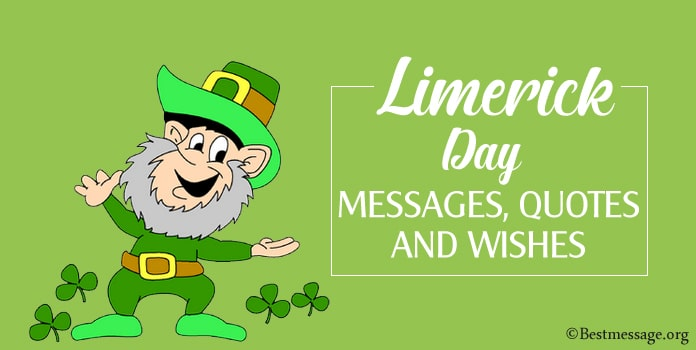Limerick Day Messages, Limerick Quotes, Wishes Image