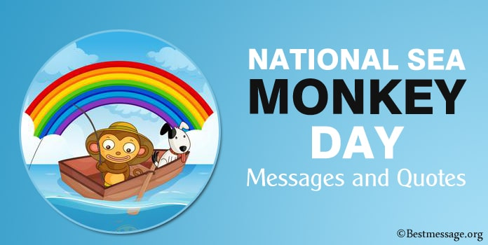 Happy Sea Monkey Day Messages, Quotes Images