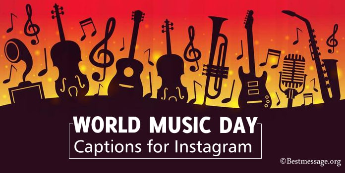 World Music Day Captions for Instagram
