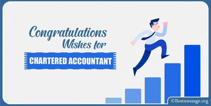 Congratulations Wishes Messages for Chartered Accountant
