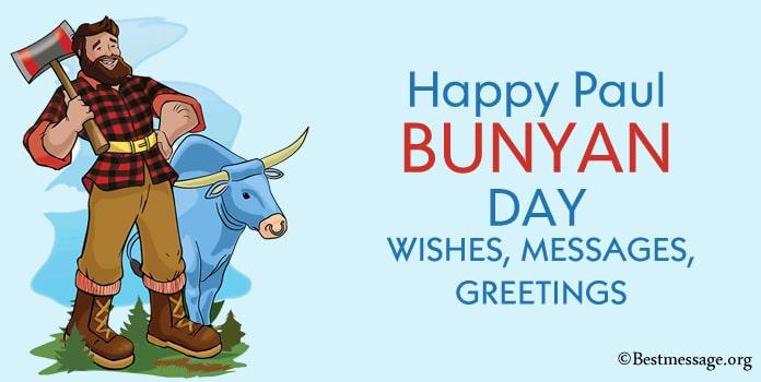 Happy Paul Bunyan Day Wishes, Paul Bunyan Messages, Greetings