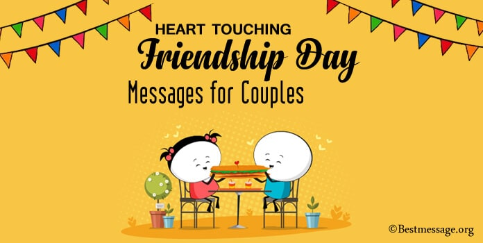 Heart Touching Friendship Day Messages for Couples