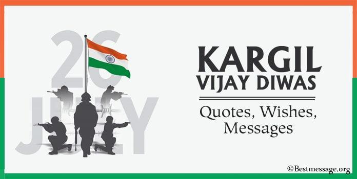 Kargil Vijay Diwas Wishes 2021, Kargil Vijay Diwas Messages Images