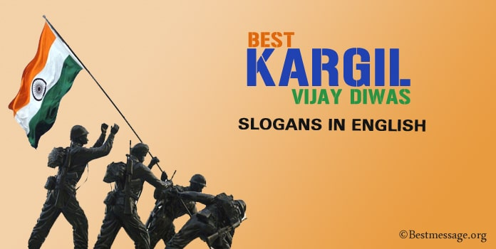 Kargil Vijay Diwas Slogan in English, Patriotic Quotes