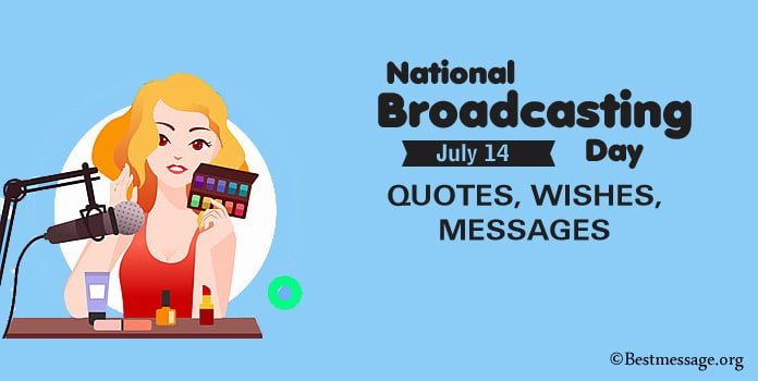 Broadcasting Day Wishes, Quotes Messages