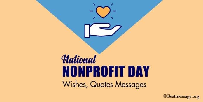 Motivational Nonprofit Day Quotes, Messages