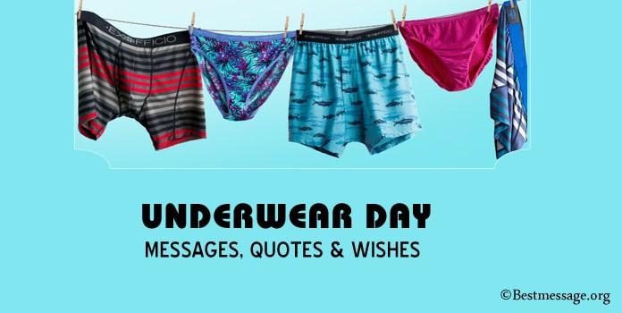 Underwear Day Messages, Underwear Quotes Wishes pics