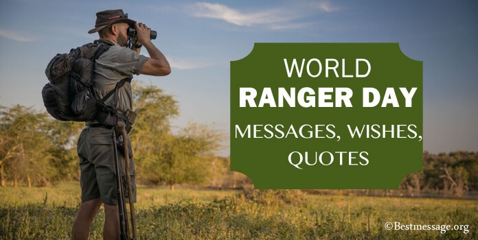 World Rangers Day Messages, Quotes Images