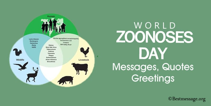 World Zoonoses Day Messages, Quotes, Greetings