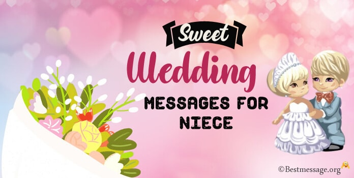 Wedding Messages for Niece, Wedding anniversary Wishes