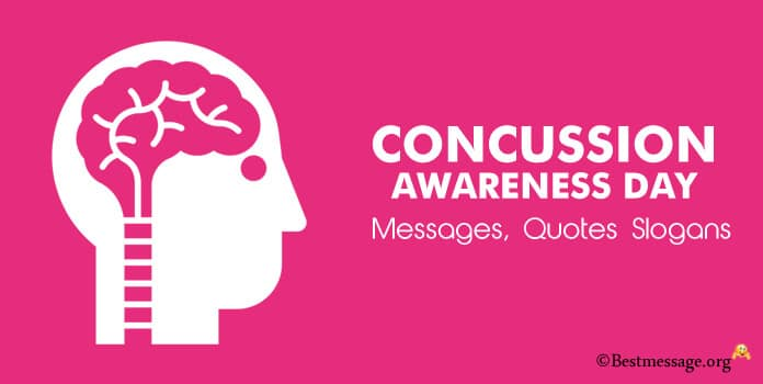 Concussion Awareness Day Messages Concussion Awareness Slogans