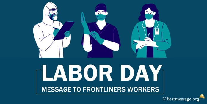Labor Day Message to Frontliners Workers