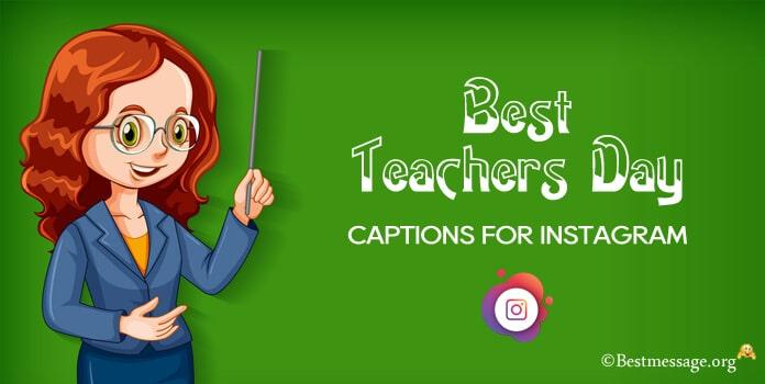 Best Teachers Day Captions for Instagram