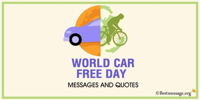 World Car Free Day Messages Quotes Images
