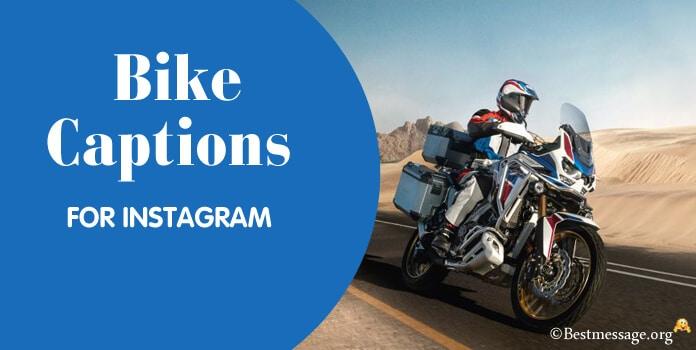 Bike Instagram Captions, Bike Riding Lover Captions