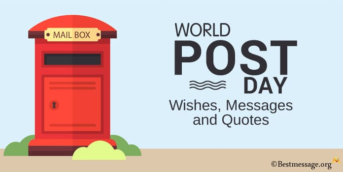 Happy World Post Day Wishes Messages Quotes