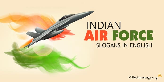 Indian Air Force Day Slogans in English