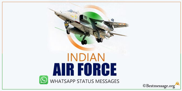 Indian Air Force Status For Whatsapp