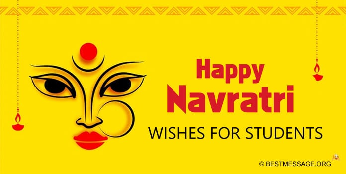 Navratri Quotes wishes for students and children