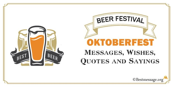 Happy Oktoberfest Messages, wishes Images