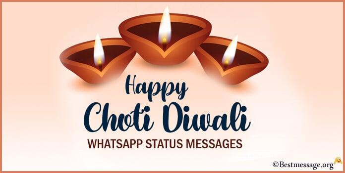 Happy Choti Diwali Whatsapp Status Messages Image