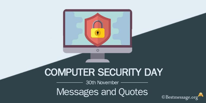 Computer Security Day Messages, Cyber Security Quotes Image