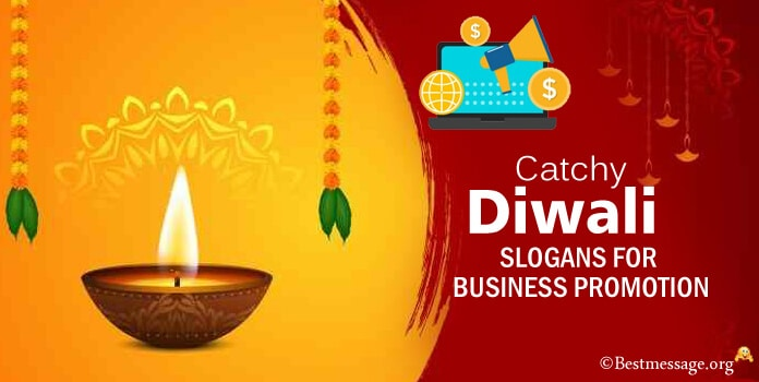 Business Promotion Diwali Slogans, Taglines