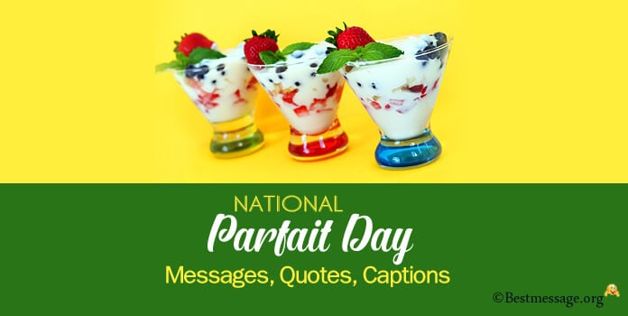 National parfait day Quotes, Messages, Wishes Image